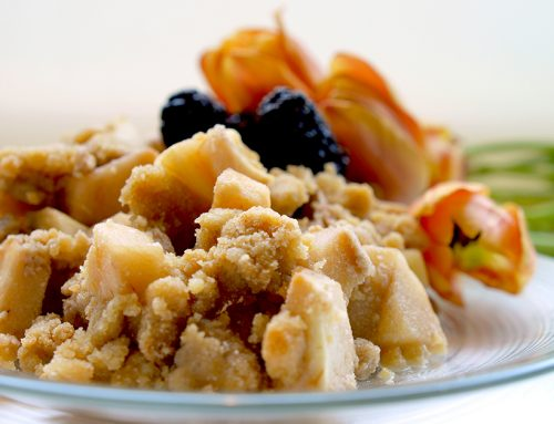 Gluten Free Vegan Apple or Berry Crisp
