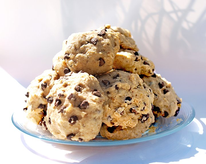 gluten free vegan chocolate chip cookies