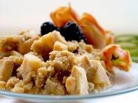 Gluten Free Vegan Apple Pear or Berry Crisp