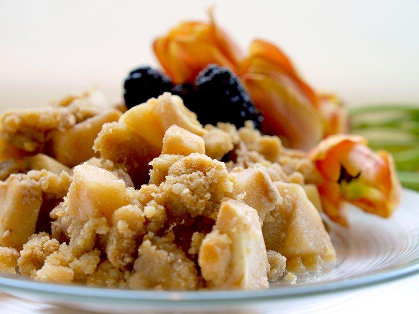 Gluten Free Vegan Apple or Berry Crisp