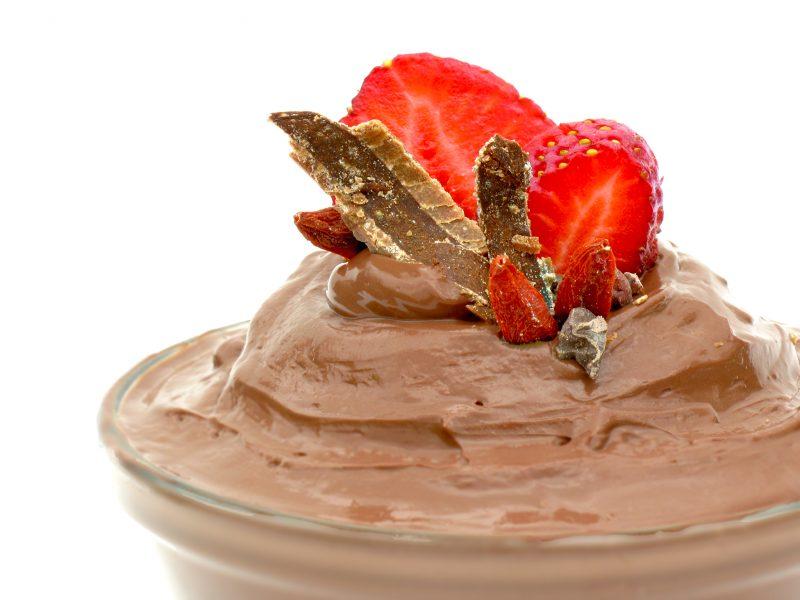 decadent chocolate mousse